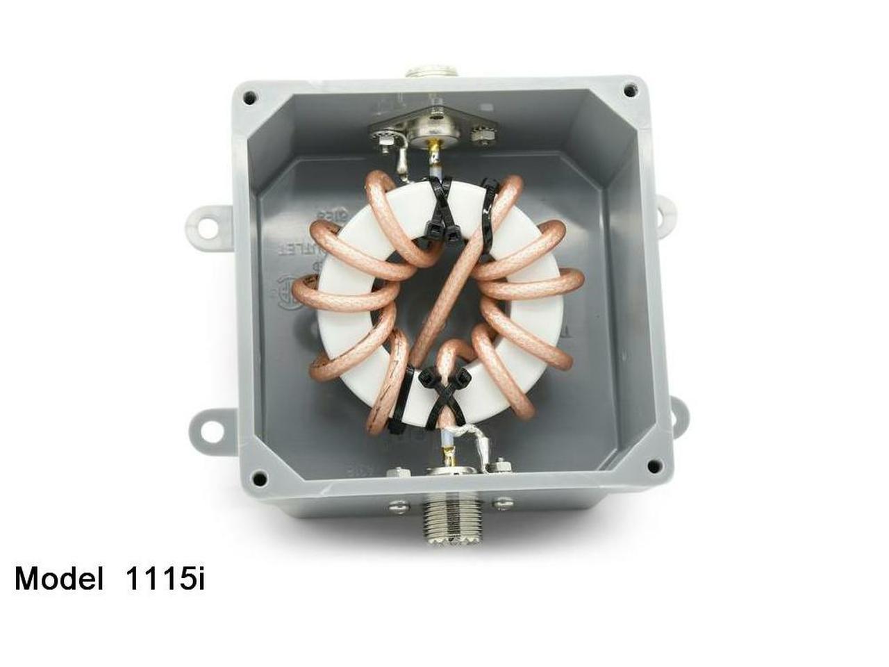 1115i - 1:1 Single Core Isolation Balun, 1.5-54 Mhz