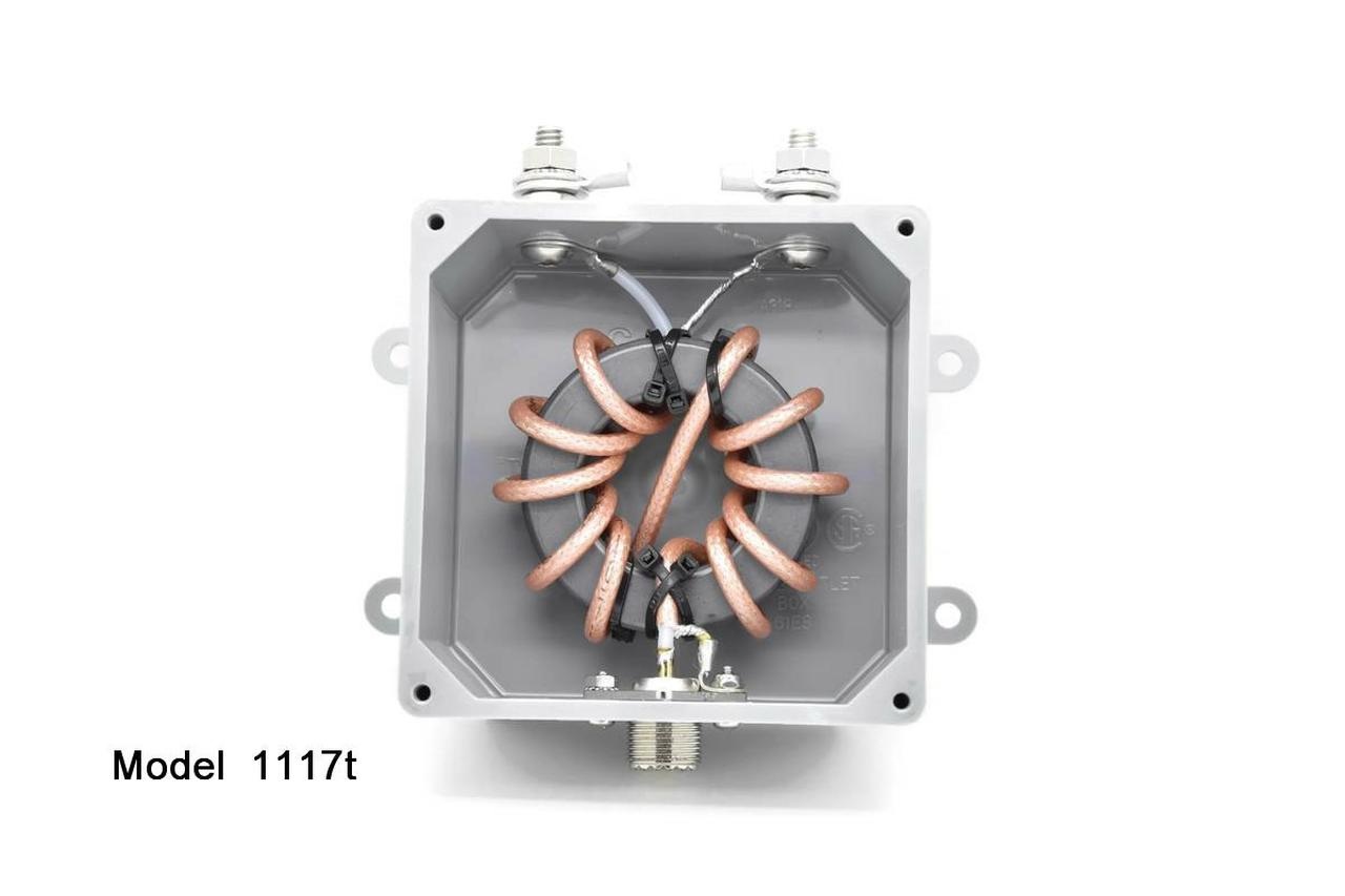 1117t - 1:1 Balun, 31-60 MHz, 3kW - Optimized for 6 meters