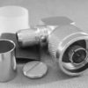 N-Type Male right angle Crimp connector for RG213