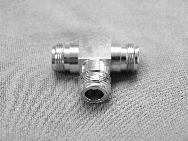 N-Type female T adaptor