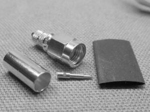 SMA Male Plug for RG142/223 - Crimp