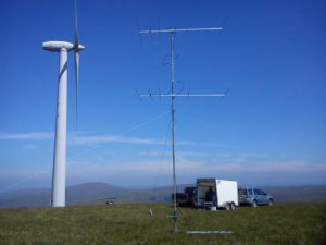4M5N50UHD 70Mhx 5 ele Powabeam pair in use with GM6MD/P during 70MHz Trophy 2013
