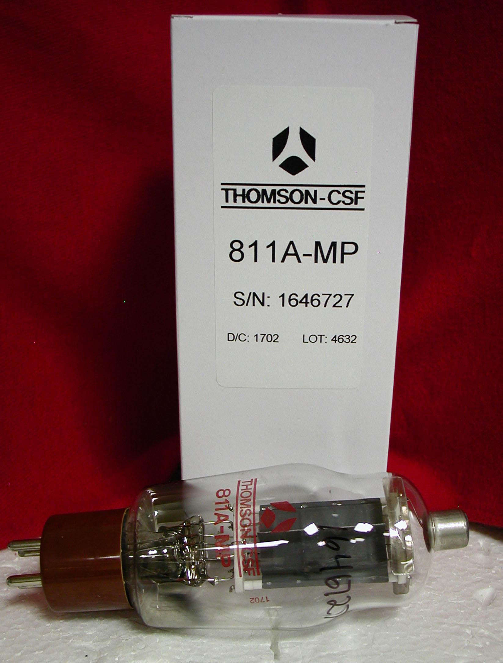 Thomson-CSF 811A transmitting tube