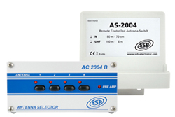 ACS-2004 4-way Remote Antenna Switching System