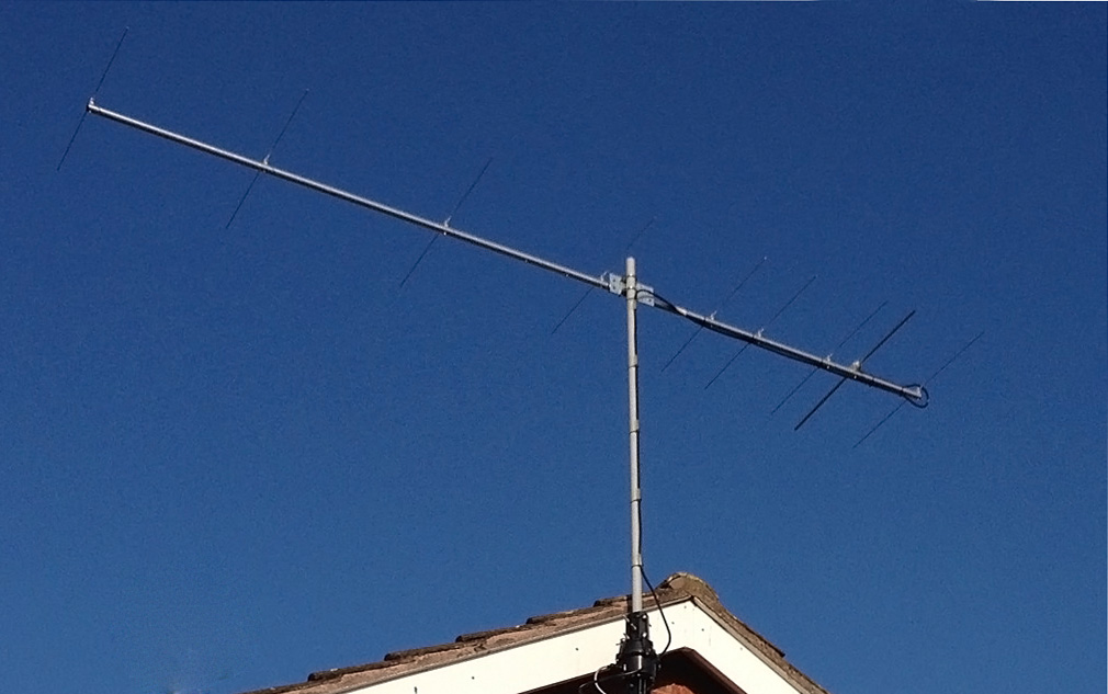 CQM9C4X installed at QTH of 2E1THX