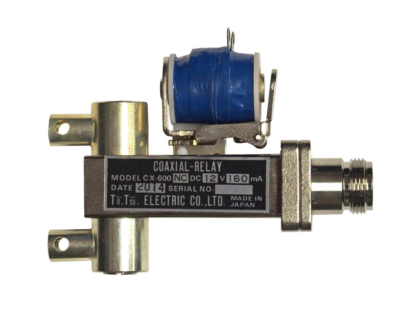 Tohtsu CX-600NC Coaxial Relay