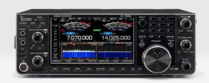 Icom IC-7610 HF/6 SDR Transceiver Front View