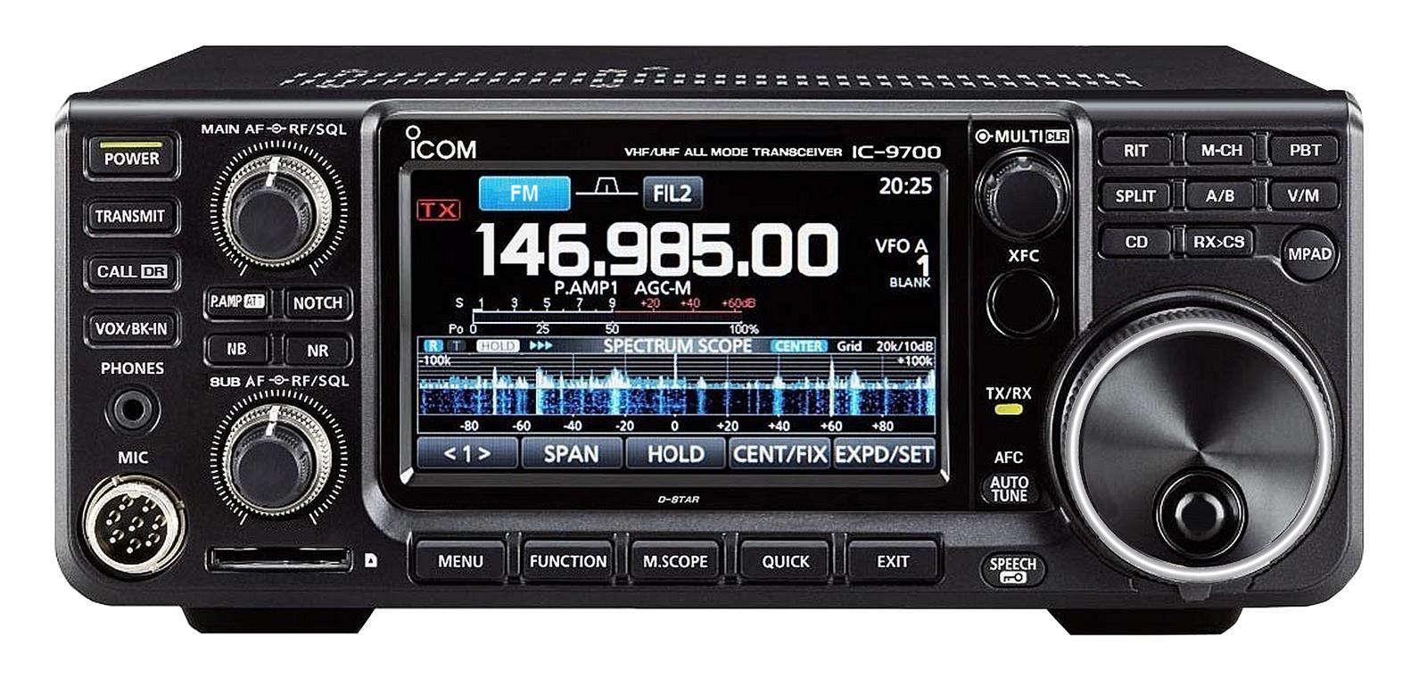 Icom IC-9700 144/432/1296MHz SDR transceiver