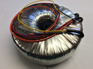 Toroidal Transformer for 4 x 572B amplifiers