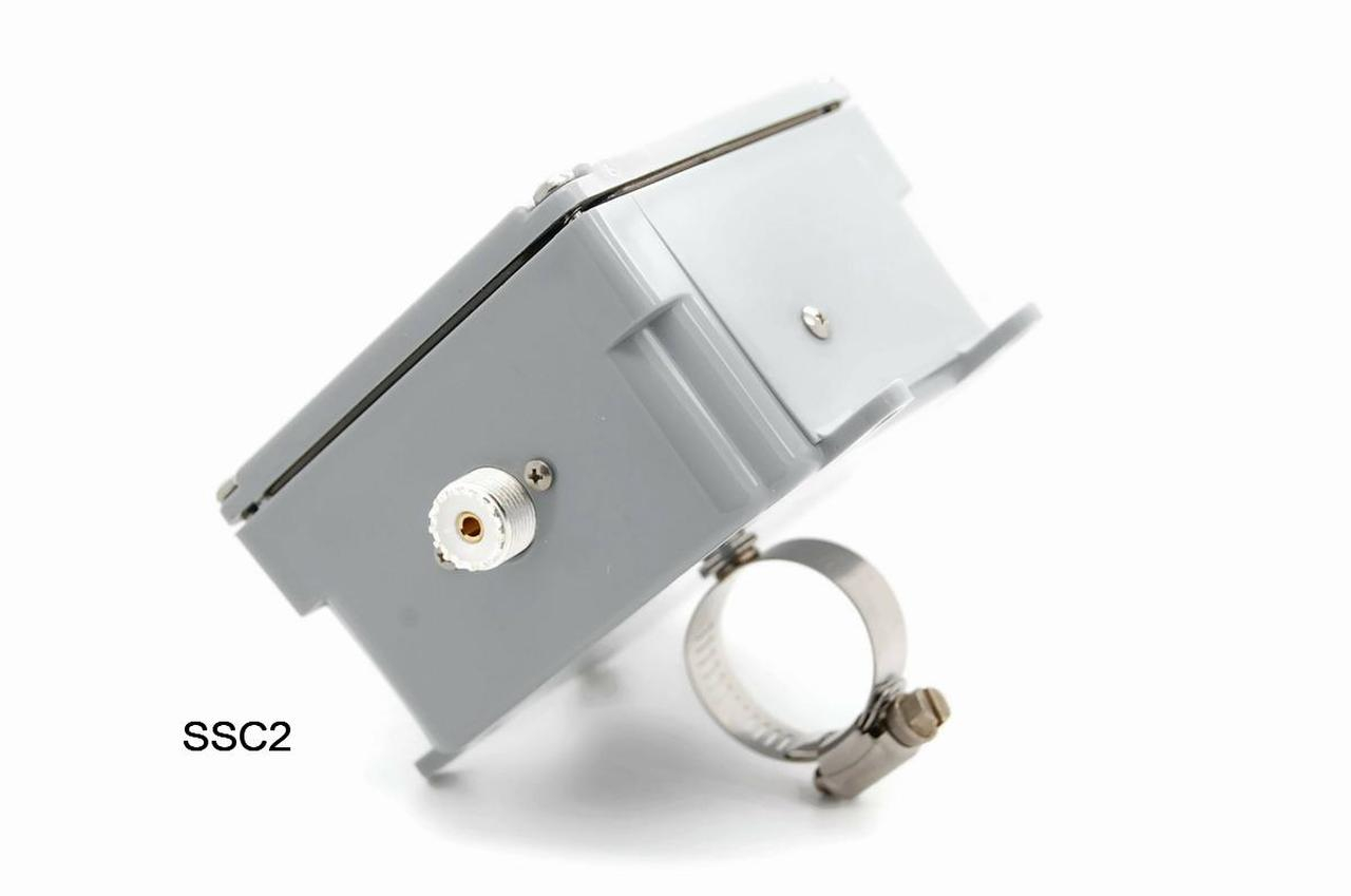 Mounting Clamp for Balun or Unun - view attached to box