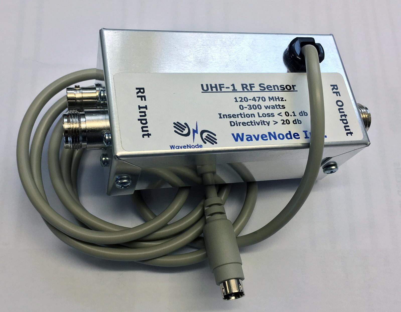 Wavenode UHF1 sensor with rfview