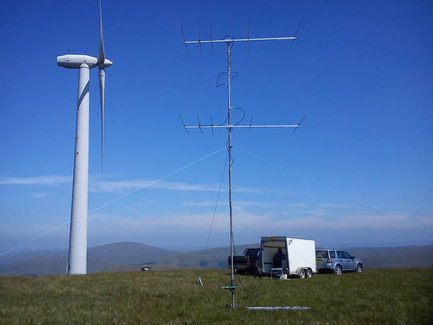 4M5N50U-HD 70Mhx 5 ele Powabeam pair in use with GM6MD/P during 70MHz Trophy 2013